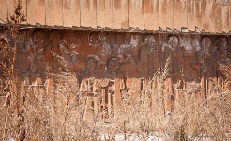 Gyumri wall mural
