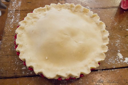 Pie gets a top crust