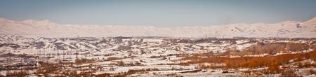 Armenian mountains in winter