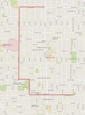 Hopscotch C.D. route