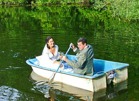 One oar wedding