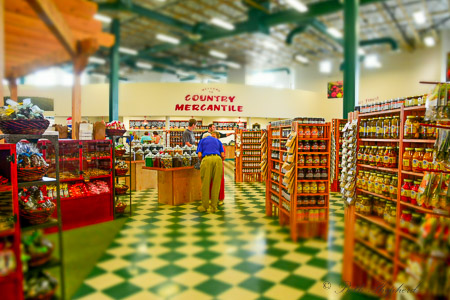 Inside the Country Mercantile in Richland, Washington