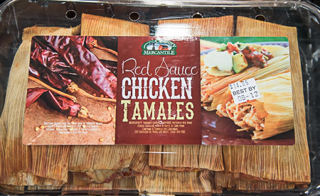 Country Mercantile chicken tamales