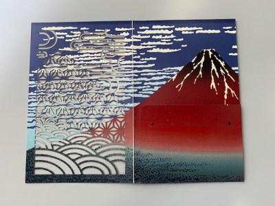 浮世絵カードキーケース4