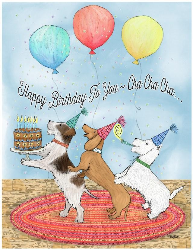 Happy Birthday To You Cha Cha Cha Pam Powell Studio