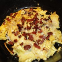 Soppressata Morning After Deconstructed Omelet: Paleo, Low Carb, Gluten Free