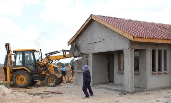 City of Harare demolitions