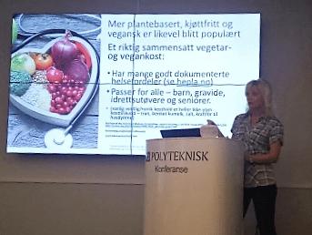 Jo mer vegetarmat jo bedre! HePla holdte foredrag på frokostmøte til Polyteknisk forum 15. september 2016