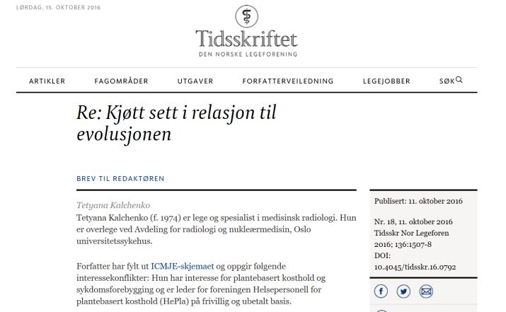 Kjøtt og evolusjon - Tidsskriftet legeforeningen.png
