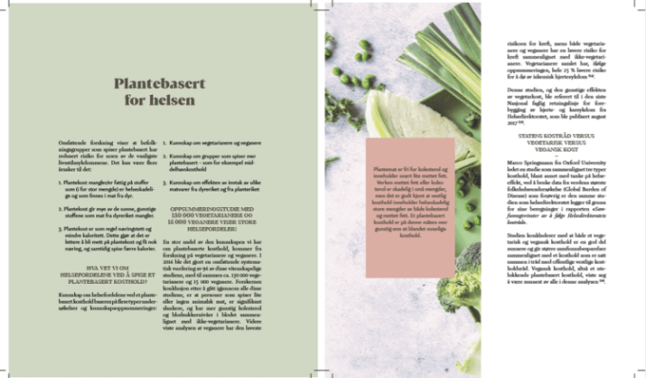 Boken Plantebasert kosthold er en god praktisk guide til plantebasert kosthold: matvarer, næringsstoffer, innkjøp, planlegging av kosthold og kjøkkenrutiner, og oppskrifter! Vil du holde deg frisk og spise grønnere/sunnere - burde du ha boken