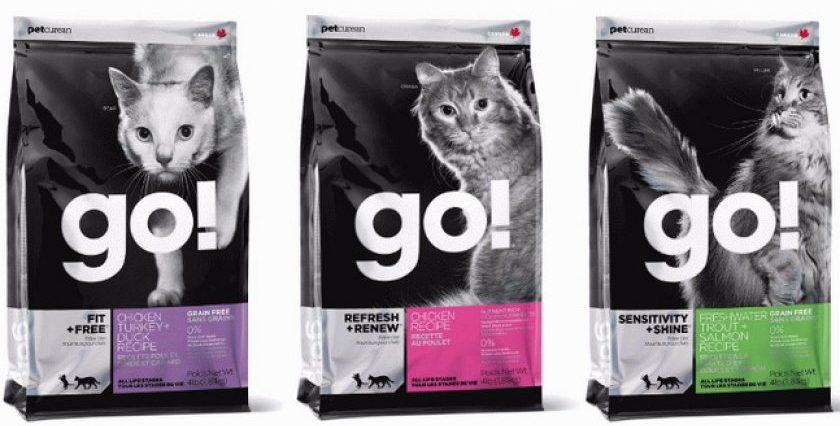 Корм для кошек Go!