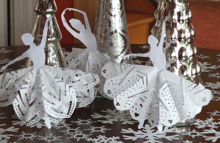 Bailarinas de papel