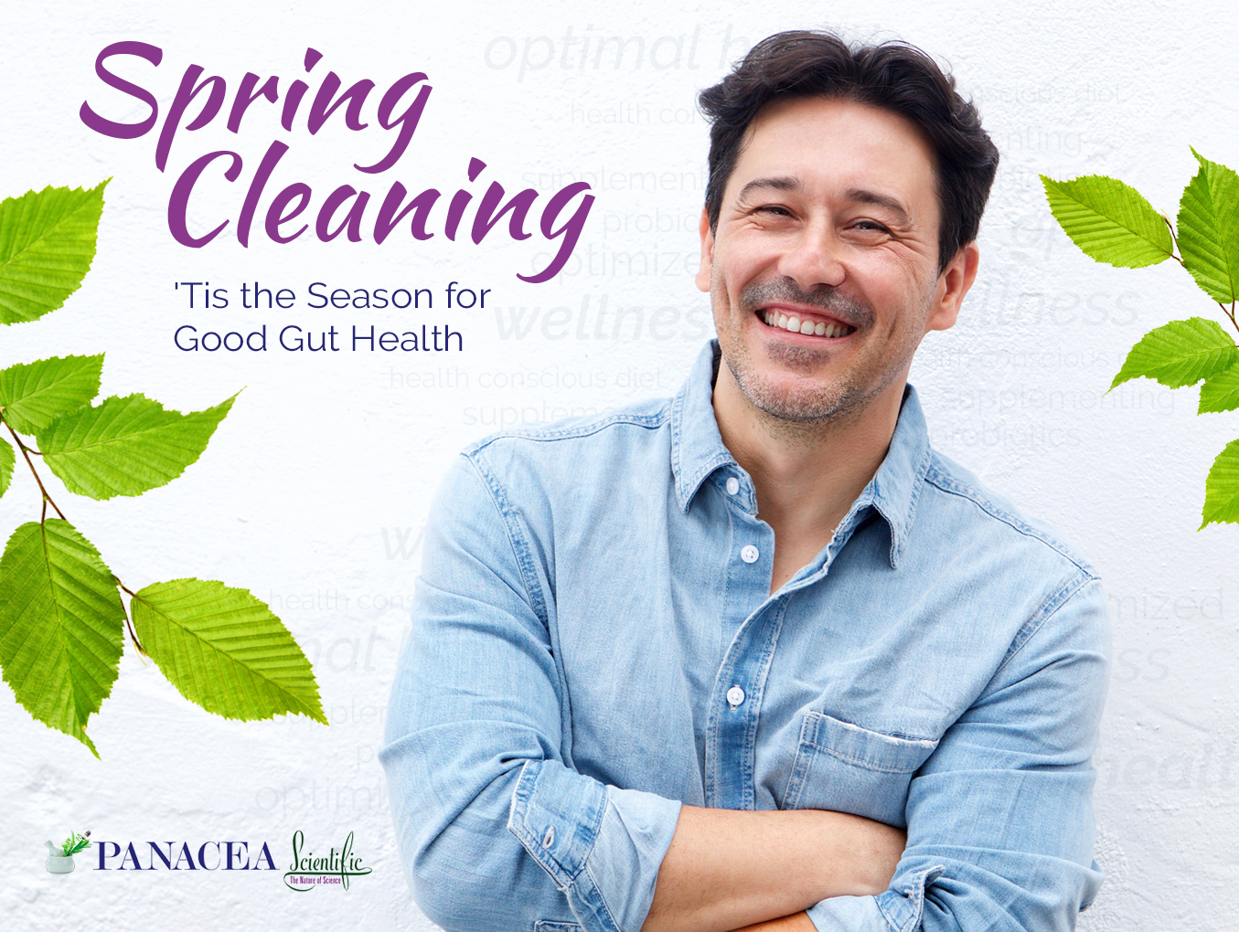 Spring Cleaning — 'Tis the Season for Good Gut Health