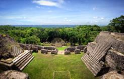 Mayan Ruins at Caracol