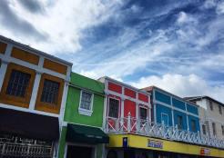 Downtown Nassau storefronts