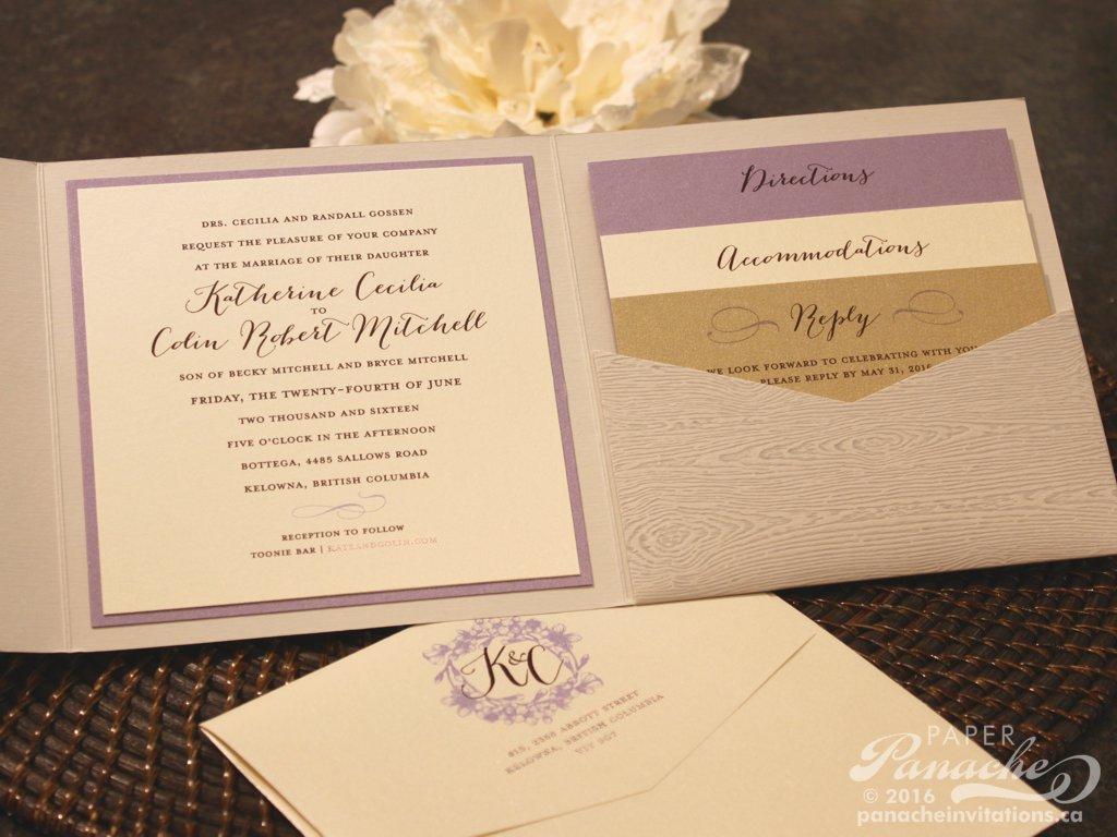Traditional Wedding Invitations Paper Panache