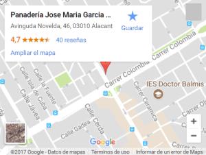 mapa_panaderiajmgarcia_sin_gluten_panaderia_alicante