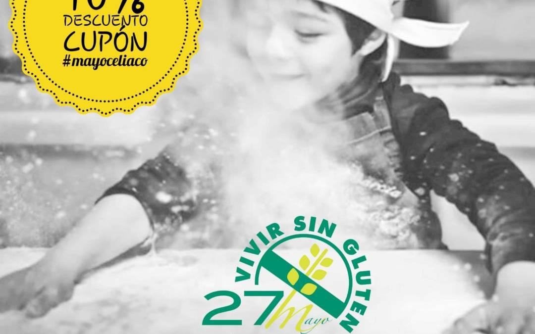 #MAYOCELIACO 10 Descuento Cupón Sin Gluten