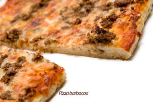 Pizza barbacoa