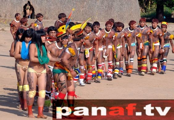 Isolated Xingu Indian Tribe Of The Amazon Rainforest Panaf TV