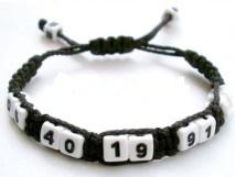 bracelet numéro de téléphone macramé (2)