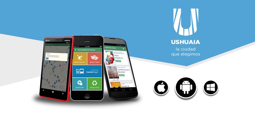 App institucional de la Municipalidad de Ushuaia