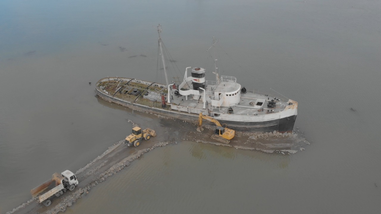 Documental del barco Saint Crhistopher en 360º