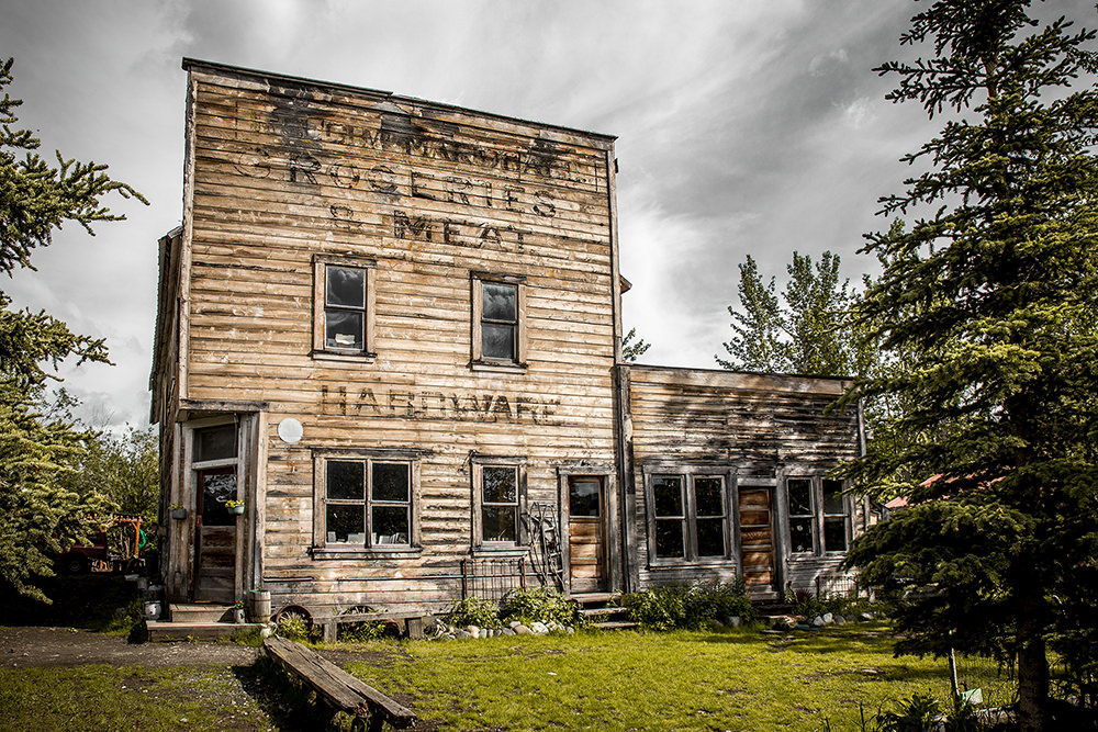 Old building in McCarthy, Alaska