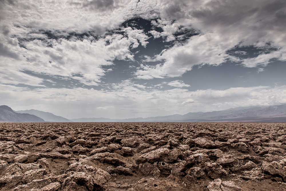 The Devil's Golf Course, Badwater Basin, Death Valley national Park