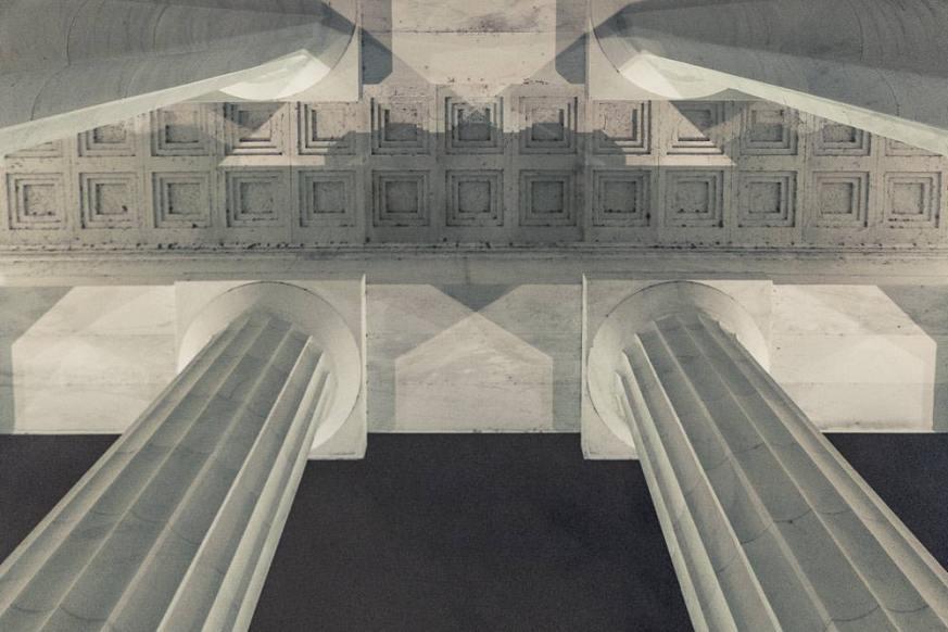 Lincoln Memorial, Washington DC, at night