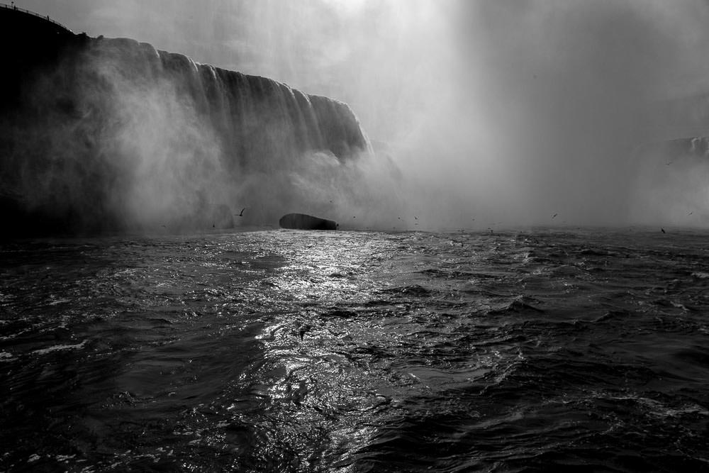 Niagara Falls, from the Maid of the Mist