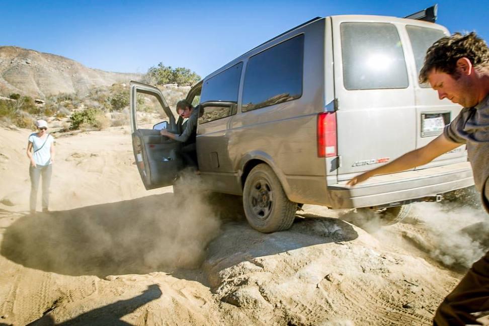 Driving the back roads of Baja