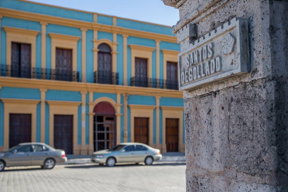The buildings of El Fuerte, Sinaloa.