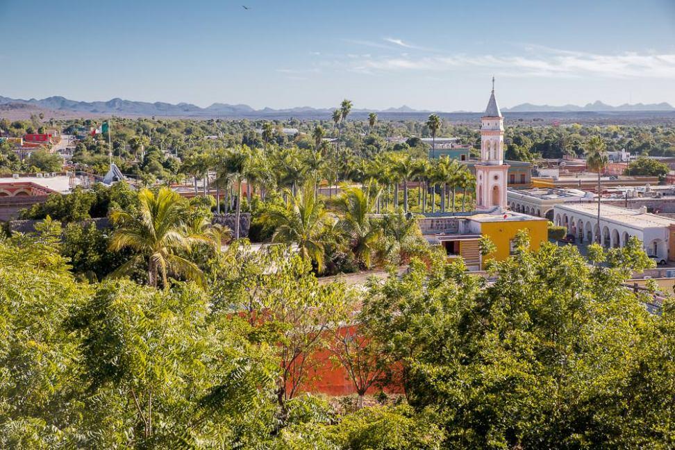 Looking out over El Fuerte, Sinaloa.