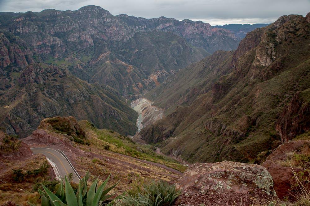 Batopilas Canyon.