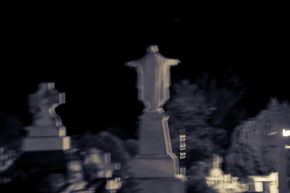 No ghost sightings at this historical graveyard…