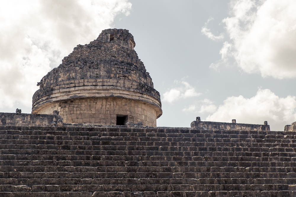 El Caracol is believed to have been an observatory.