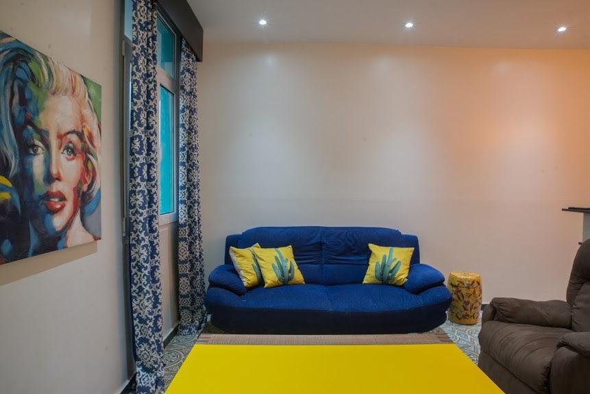 Salón en apartamento 1A en Flor de Lirio Casco Viejo