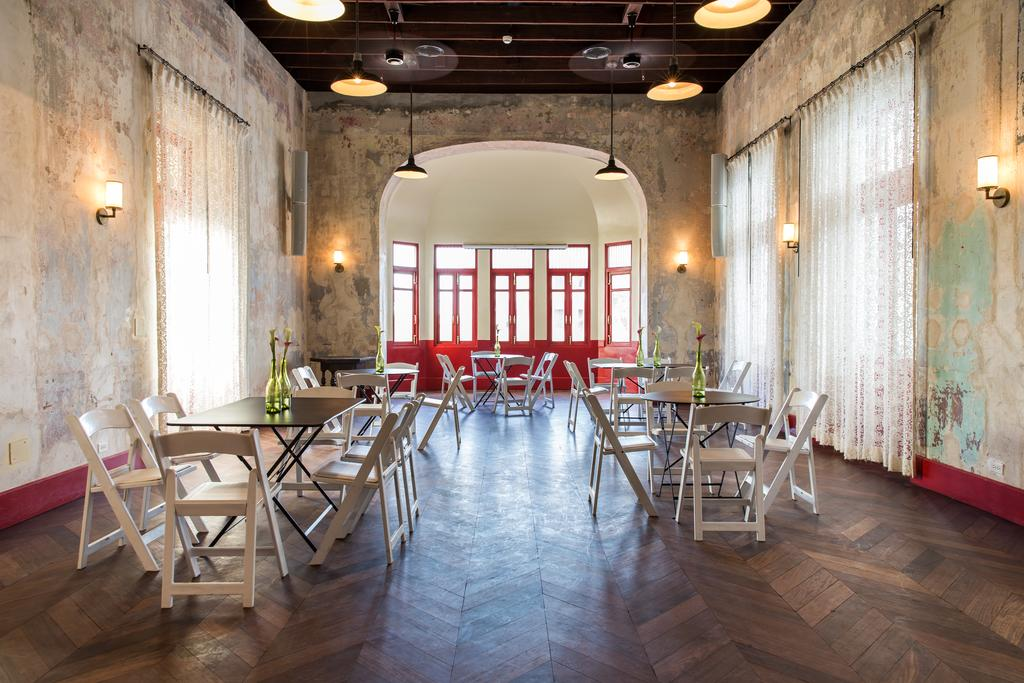 Salon Viejo can be rented as an event space in the American Trade Hotel