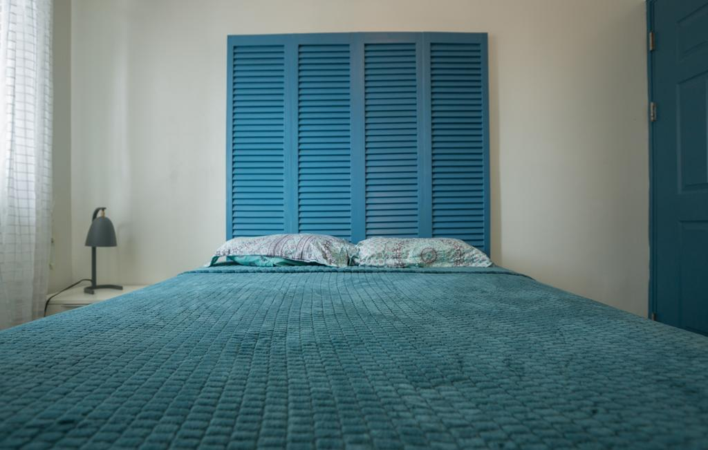 dormitorio del apartamento 1A en Flor de Lirio Casco Viejo