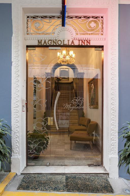 Magnolia Inn used to be an old colonial French mansion in Casco Viejo