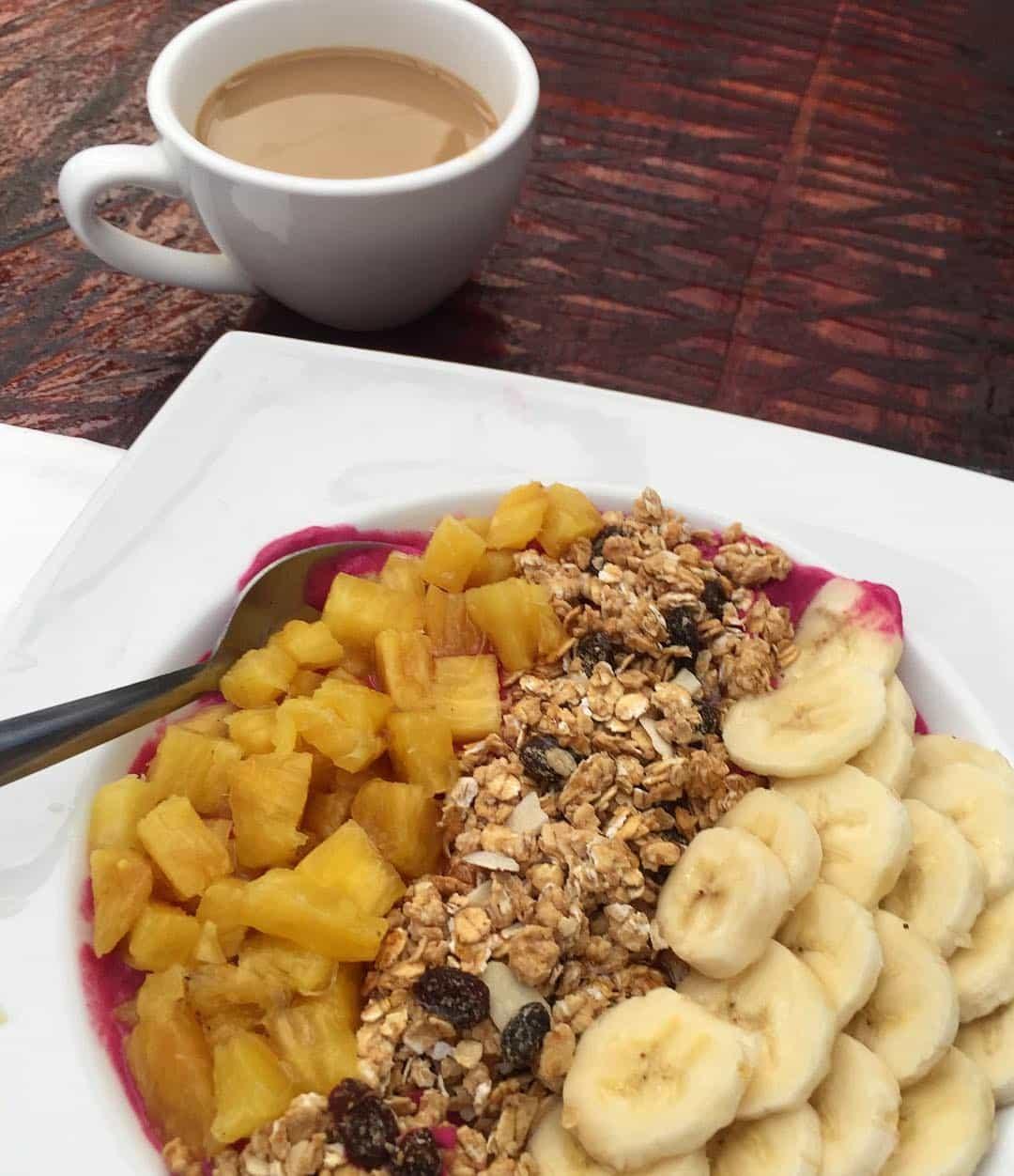 Breakfast bowl at Mahalo Casco Viejo