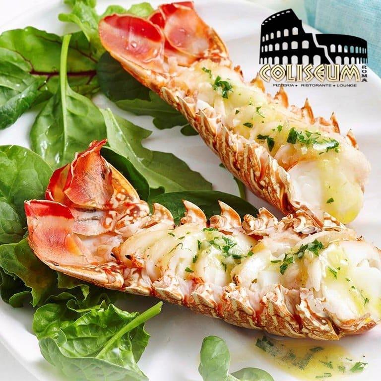 lobster at Coliseum Roma Restaurant