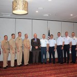 Military Officials with 2017 MAC Chairman, Robert Carroll.