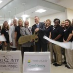 Chamber Ambassadors gather to celebrate the grand opening of the Gulf Coast Regional Medical Center Postpartum Unit.
