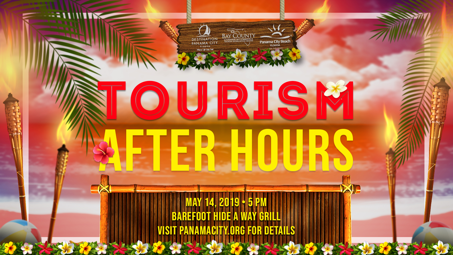 Join us for Tourism After Hours on May 14 at Barefoot Hide-A-Way Bar and Grill.