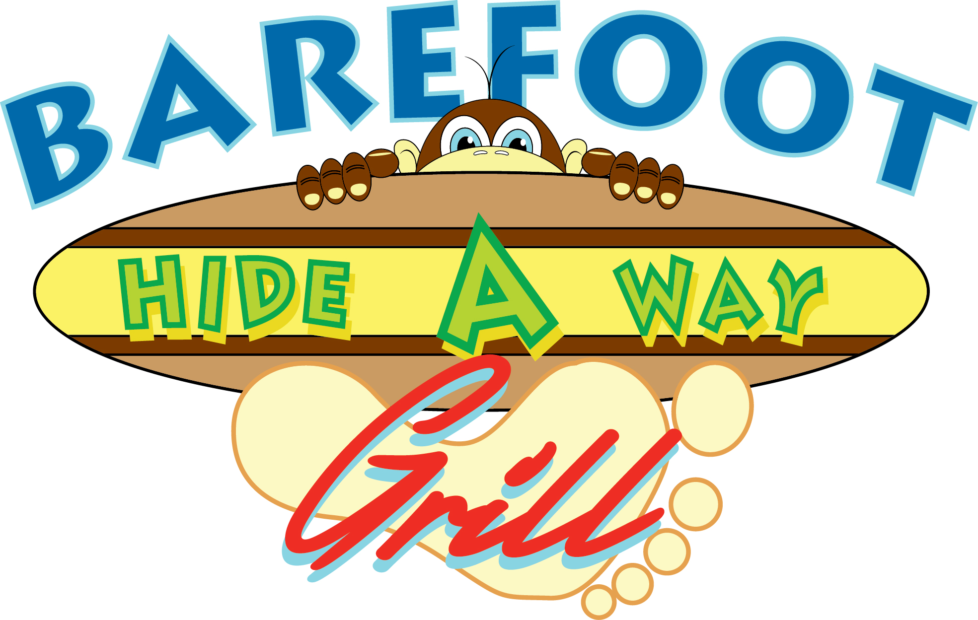 Barefoot Hide-A-Way Grill