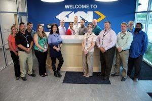 GKN Aerospace receives the Newcomer IAC Award.