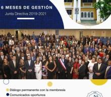 JUNTA DIRECTIVA 2019-2021: 6 Meses de Gestión.
