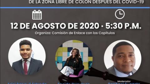 PROCEDIMIENTOS Y PROYECCIONES DEL FUTURO DE LA ZONA LIBRE DE COLON DESPUÉS DEL COVID-19